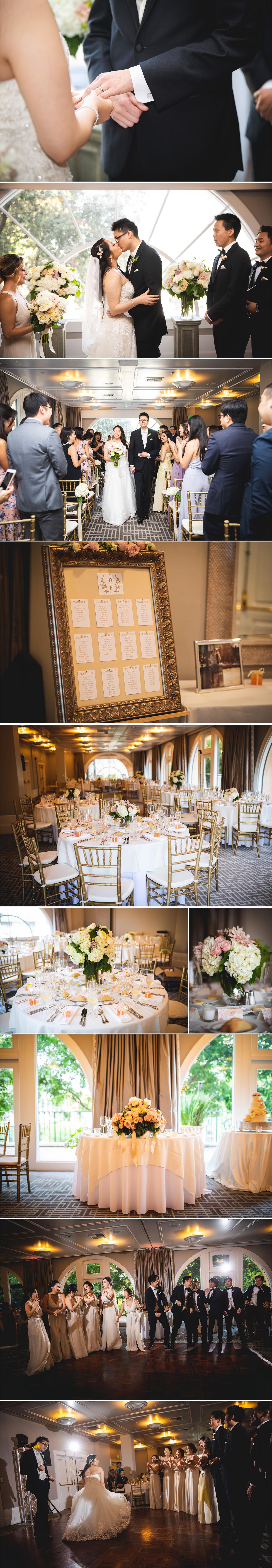 venue details tables at garden court hotel