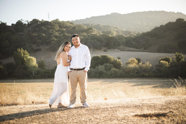 Melissa & Michael Engagement at Rancho San Antonio