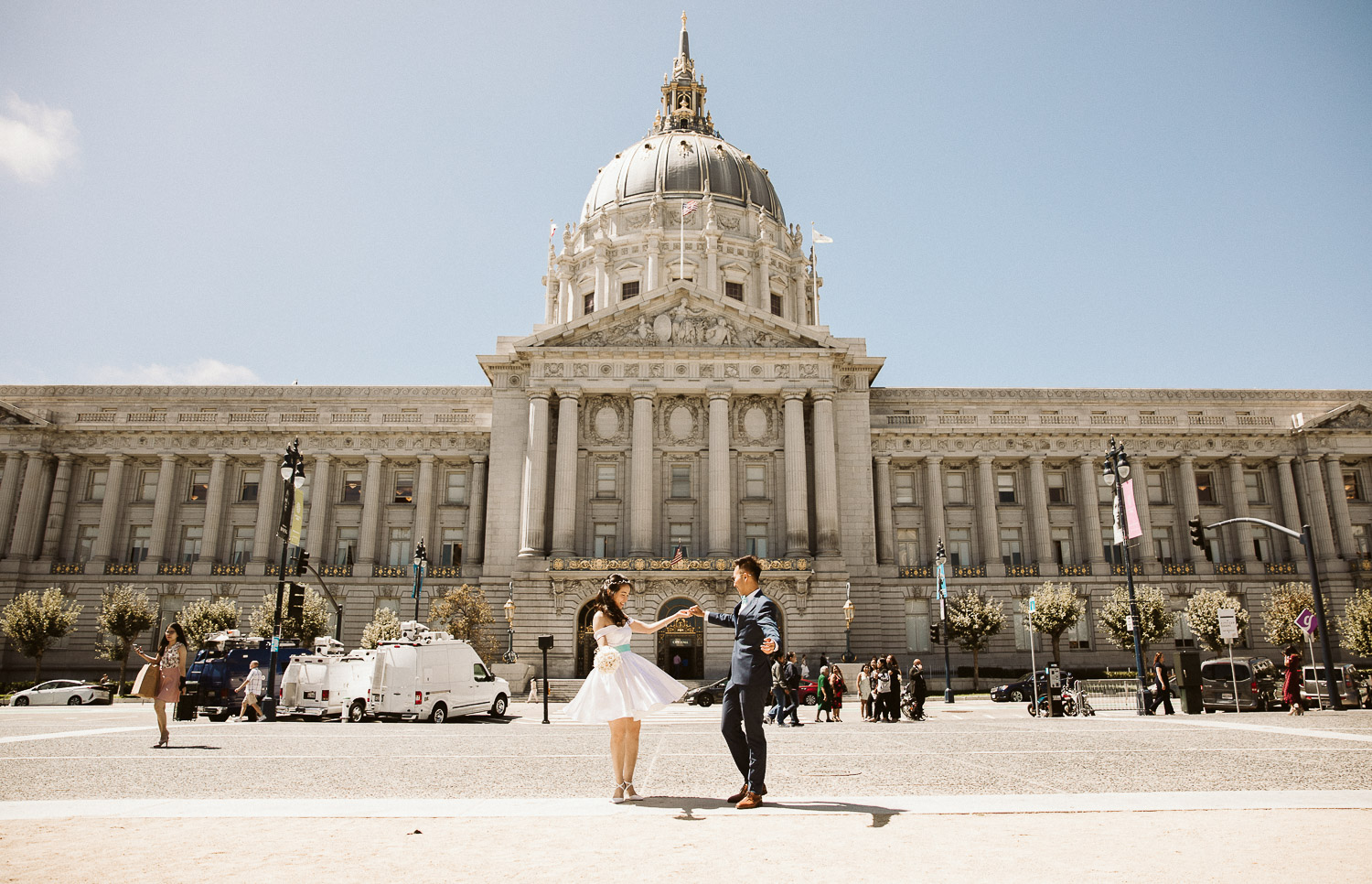 David & Tammy San Francisco City Hall & Sutro Baths Wedding