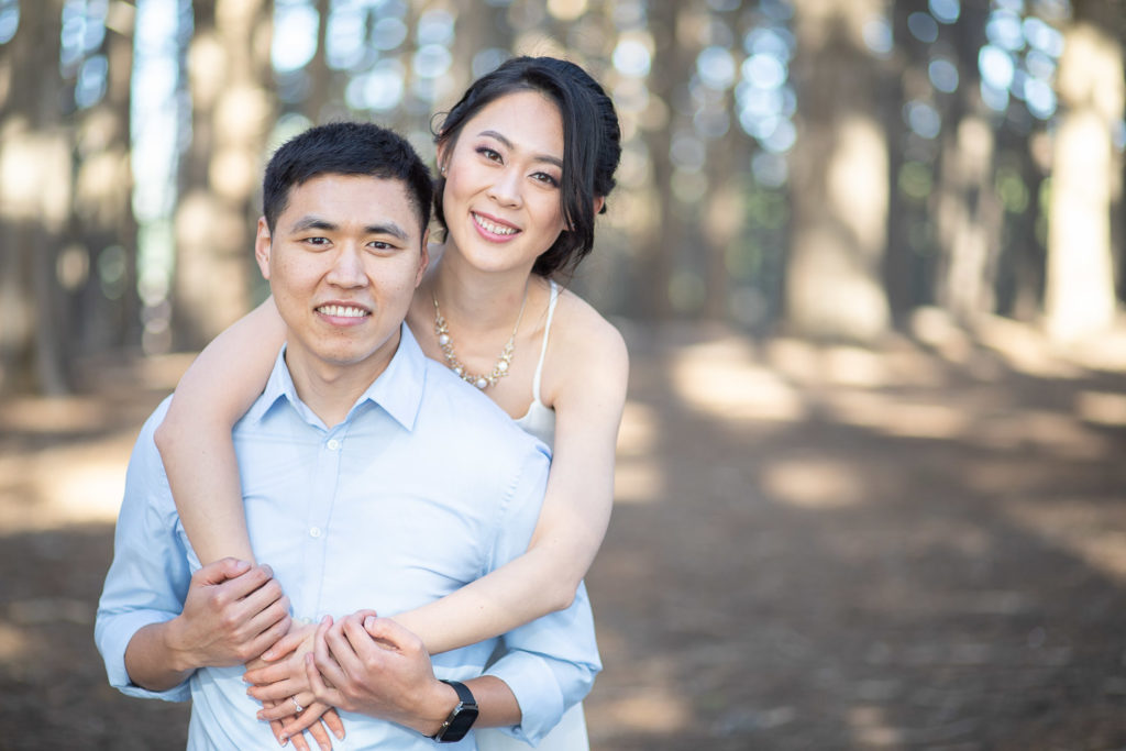 engagement shoot enchanted forest