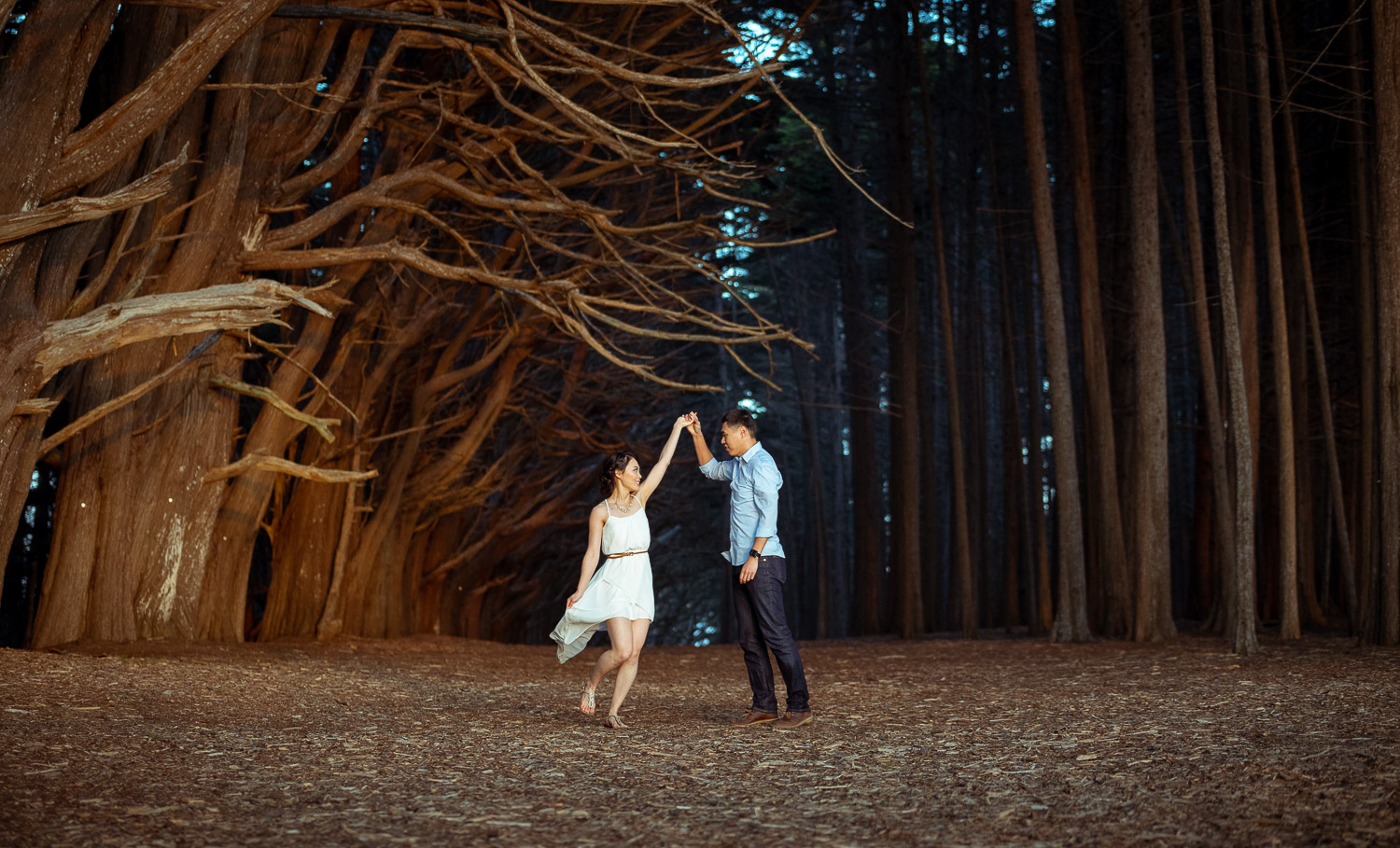 Sean & Gefflin Engagement Shoot at The Enchanted Forest