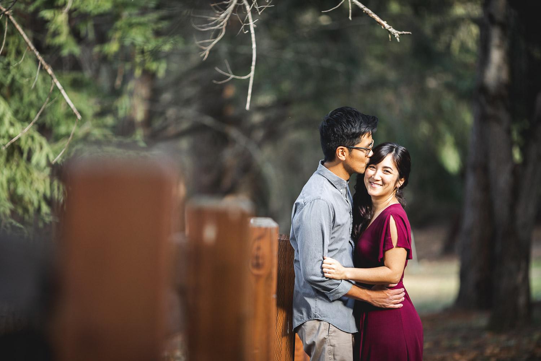 Miki & Erik Engagement Shoot at Sanborn County Park