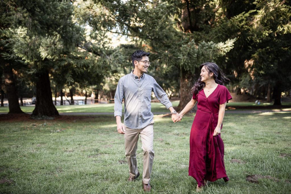 sanborn county park engagement couple shoot