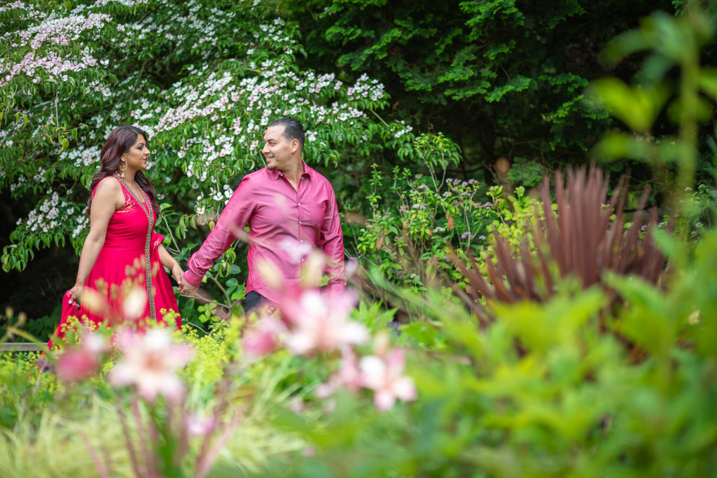 engagement session sf botanical garden