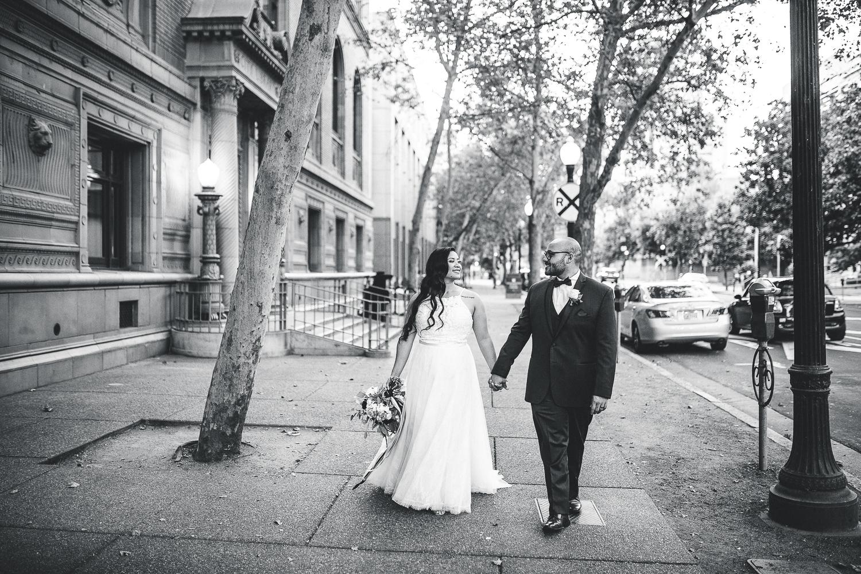 Donovan & Julie Wedding at Tsakopoulos Library Galleria in Downtown Sacramento