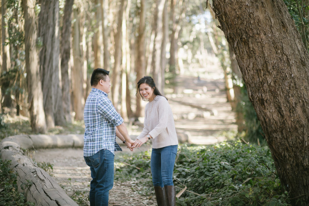 couple walking at lovers lane