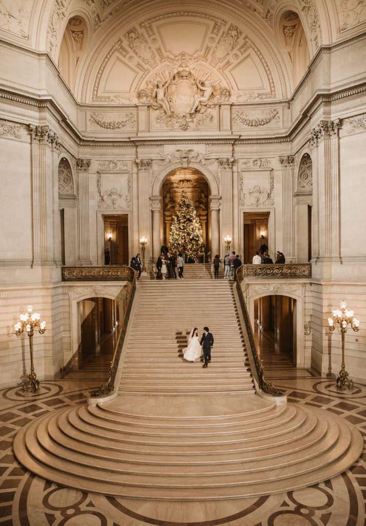 San Francisco City Hall Rotunda Stairs