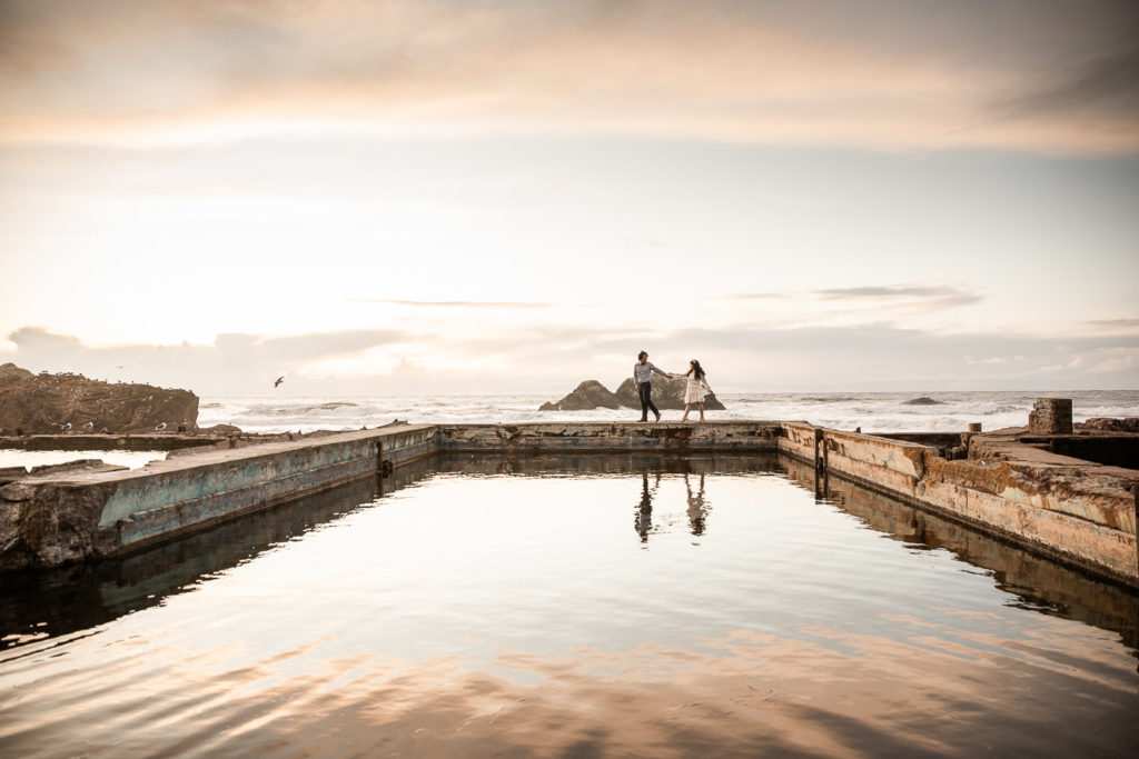 Engagement Sutro Baths