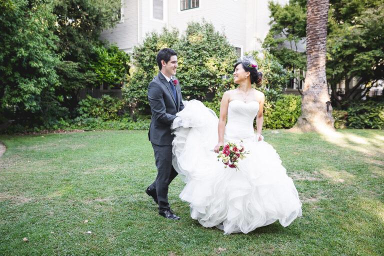 Sharleen & Michael's Intimate Wedding at Gamble Garden